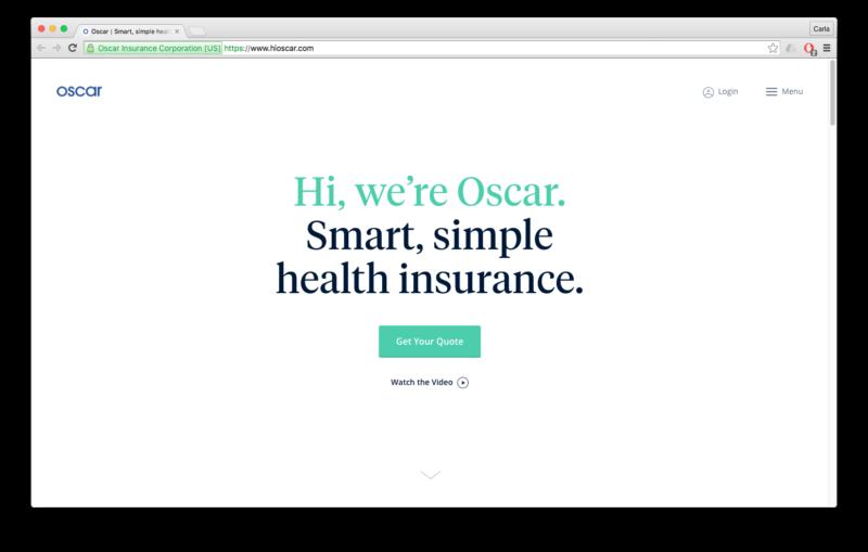 case study hi oscar smart health insurance